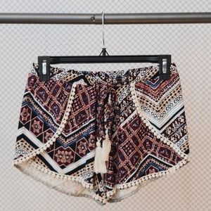 NORDSTROM flowy boho shorts